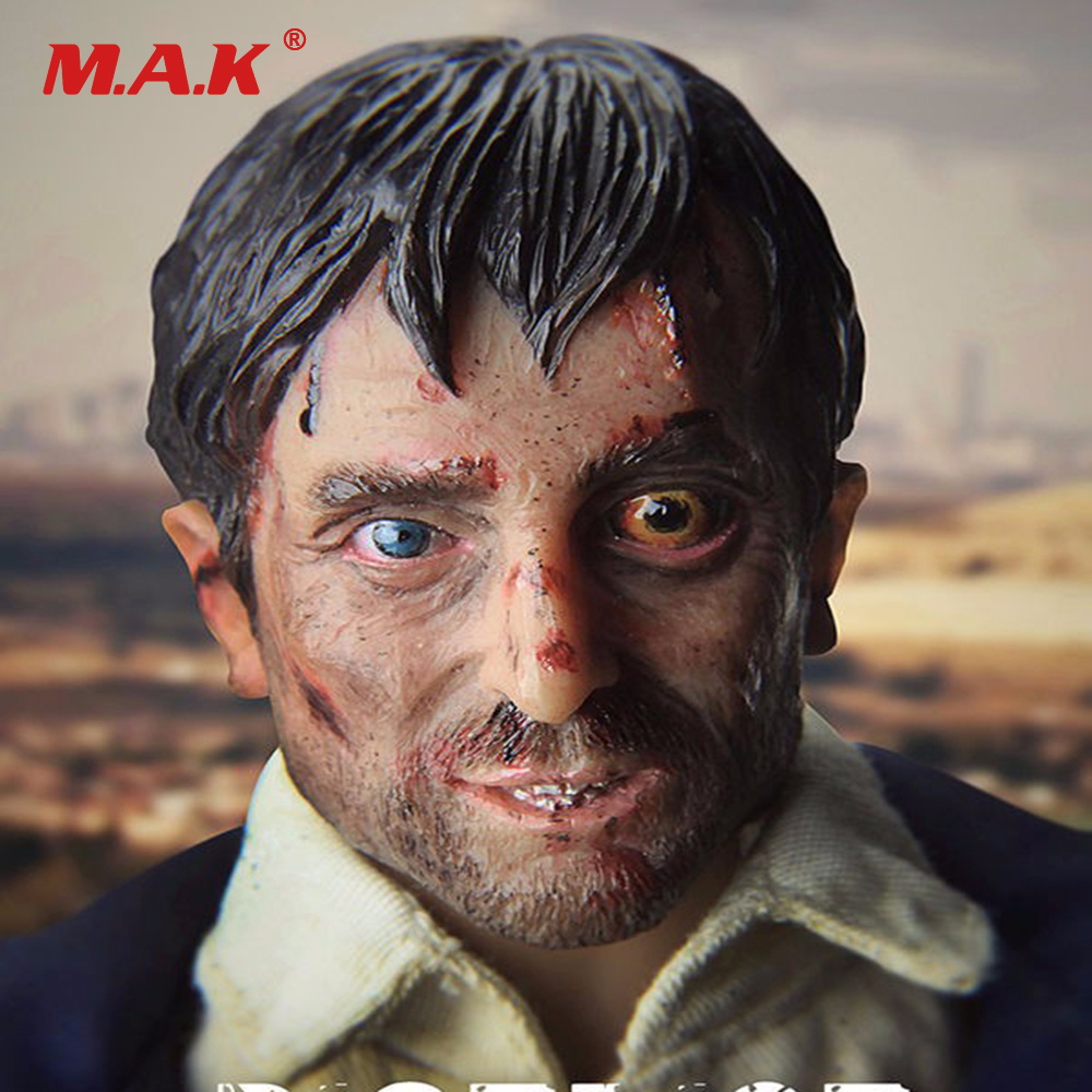 1/6 Scale Male Head Scuplt District 9 Wikus Sharlto Head & Clothes Sets Not Included Body for 12 '' Action Figures