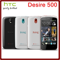 500 Original Unlocked HTC Desire 500 8MP 1800mAh 4.3Inch 4GB ROM 1GB RAM Touchscreen Refurbished Mobile Phone Free Shipping