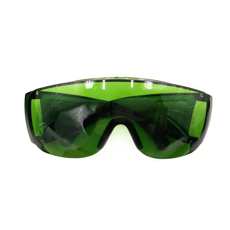 FGHGF Workplace Safety Glasses IPL 200-2000NM Safety Glasses Green Laser Light Protection Glasses OD + 4 With Safety Glasses Box