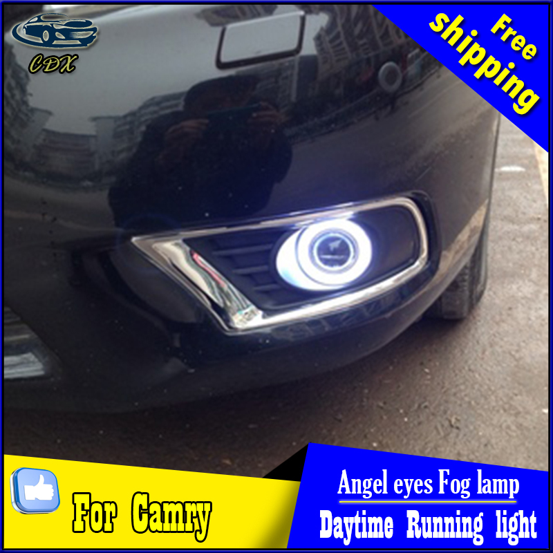 CDX car styling angel eyes fog light  for toyota camry 2009-2011 LED fog lamp LED Angel eyes LED fog lamp Accessories купить