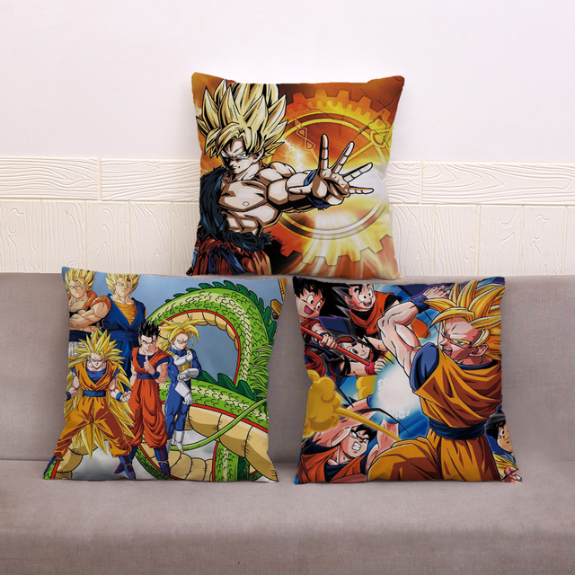 Poduszki Dragon Ball - aliexpress