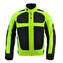 Motorcycle jacket racing motorcycle men jaqueta motorbike motos motociclismo chaqueta moto mesh breathable reflecive black XXXL