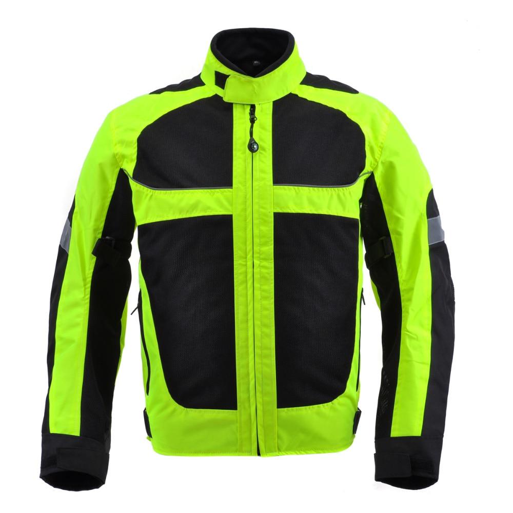 Motorjas racing motorfiets mannen jaqueta motor motos motociclismo chaqueta moto mesh ademend reflectieveld zwart XXXL