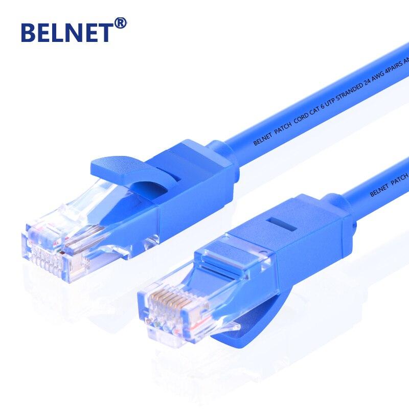 BELNET 10/15/20m rj45 cat 6 ethernet cable Patch LAN Cord for Computer Laptop router