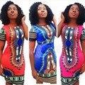 Feitong 2017 Лето Женщины Sexy Dress Dashiki Африке Традиционная Одежда Dress Fashion Casual Dress vestidos femininos