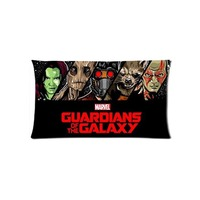 The Galaxy Guardians Vintage Pillow Case Decorative Pillowcases Washable Waist Pillow Cover