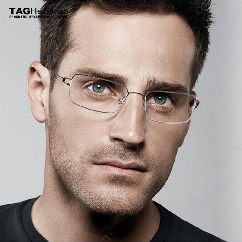 Marque montures de lunettes hommes lunettes d ordinateur TAG Ezéchias  optique cadre femme lunettes vintage 1d3b0e8d7c00