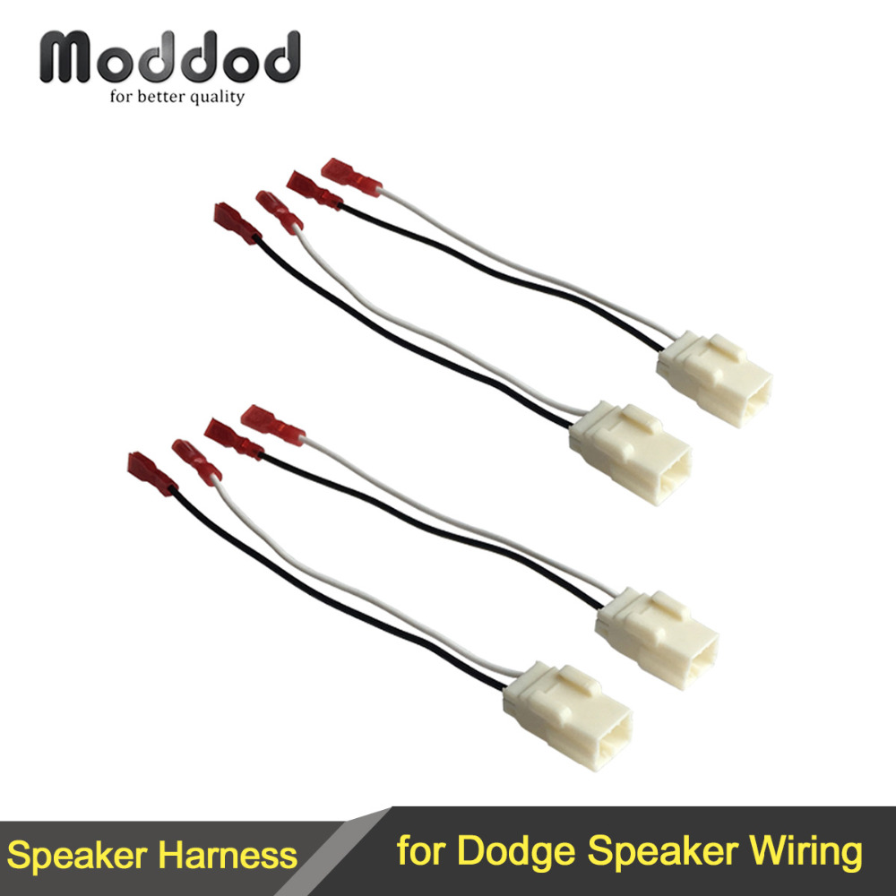 online get cheap speaker wire harness aliexpress com alibaba group Gm Speaker Harness Adapter 1 or 2 pairs cable for chrysler dodge speaker wire harness adapter connector plug gm speaker harness adapter