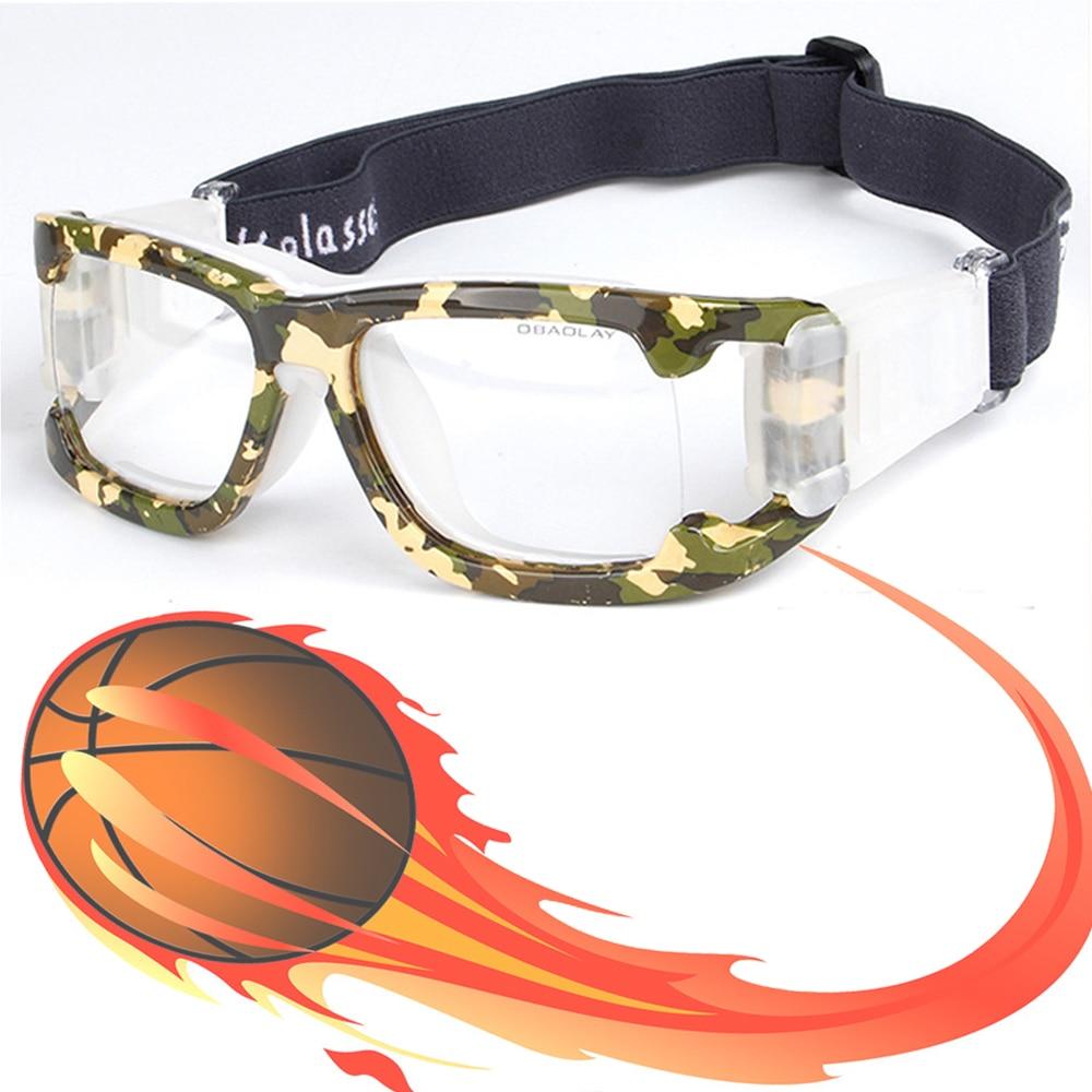 Sports frames for eyeglasses - Camo Professional Basketball Glasses Football Sports Glasses Goggles Eye Glasses Frame Match Optical Lens For Myopia