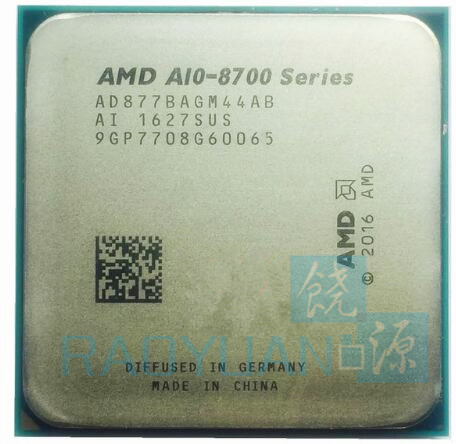 AMD A10-Series A10-8700 A10 8700 Series A10-8770 A10 8770 3.5 GHz Quad-Core CPU Processor AD877BAGM44AB Socket AM4