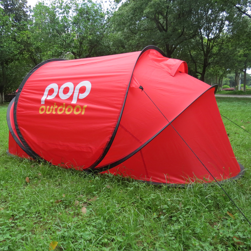Pop Up Tents For Sale >> Single Person Pop Up Tent Lightweight 1 6kg Red Automatic