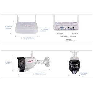 Image 4 - טונטון 1080P אלחוטי אבטחת המצלמה 2TB HDD 2MP 4CH NVR מצלמה IR CUT חיצוני טלוויזיה במעגל סגור מצלמות IP אבטחת וידאו מעקב ערכות