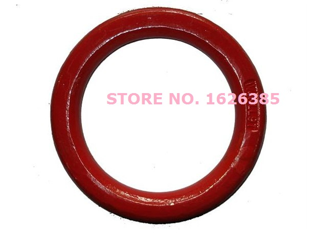3.3Ton G80 round ring industrial grade lifting rigging hardware forged alloy steel sling rope ,boat part,marine hardware