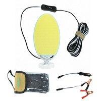 12V 15W COB Ellipse recessed LED panel Light 1080LM Work Decor Lamp rechargeable portable lighting Magnetic base cob road trip