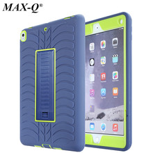 Shockproof Hybrid Silicone Heavy Duty Armor Kids Safe Case With Stand Colorfull Cover For Apple iPad Pro 10.5 inch A1701 A1709