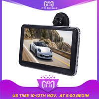 New 7 inch Car DVR Camera Recorder Android Touch Screen Full HD 1080P Multi media Player with GPS Navigation free Maps