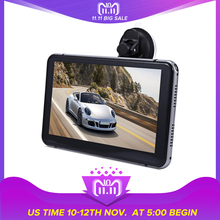 New 7 inch Car DVR Camera Recorder Android Touch Screen Full HD 1080P Multi-media Player with GPS Navigation free Maps