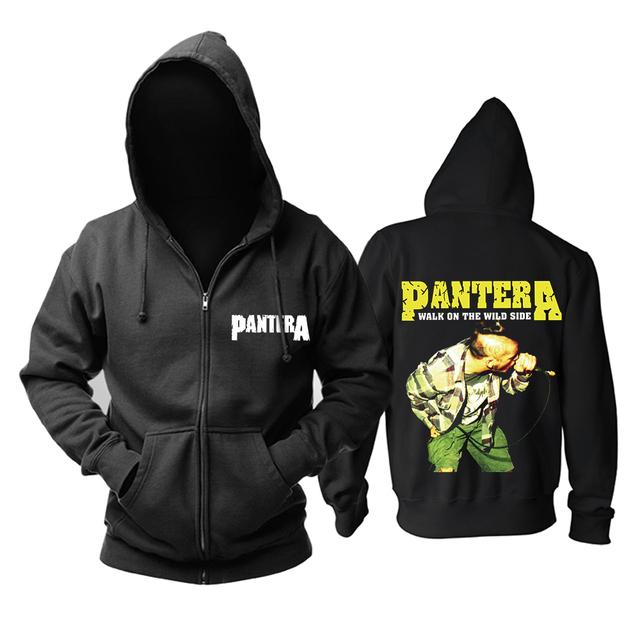 Bloodhoof PANTERA  POWER MUSIC METAL ROCK BAND HOODIE Asian Size