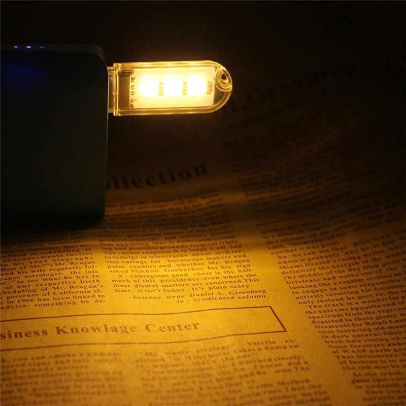 Мини светодио дный Светодиодный Светильник настольный ночник USB гаджет настольная мощность экономия 5730 ночник лампа для Xiaomi power bank клавиатура светодио дный