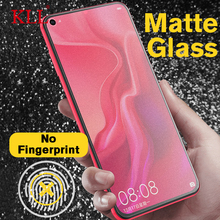 Matte Tempered Glass for Huawei Nova 4 3 3i Frosted Mate 20 P30 Lite P20 Pro P10 Plus Screen Protector No Fingerprint