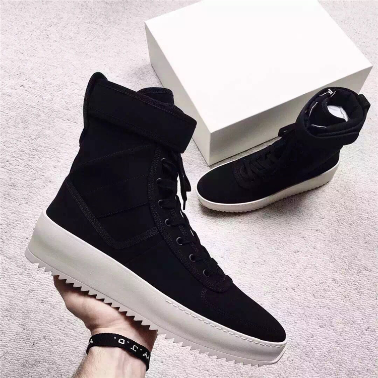 Chaussure Femme Superstar Justin Bieber Designer Shoes Lace Up Military Boot Black Ankle Boots For Women Genuine Leather Booties