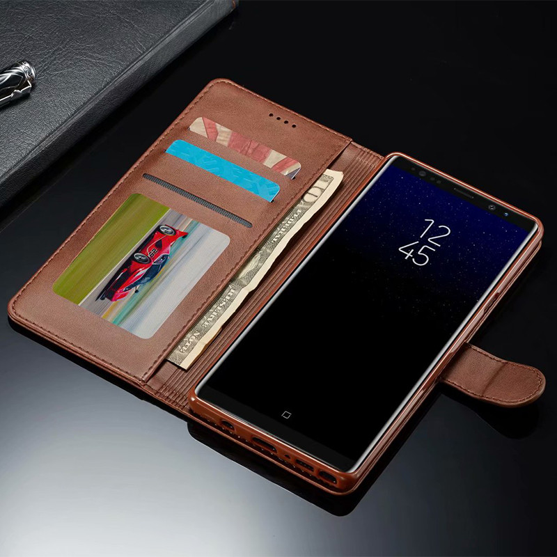 Note 9 Case For Samsung Galaxy Note 9 Case Flip Vintage Phone Cases Samsung Note 8 Case Leather Magnetic Wallet Cover On Note 8