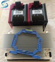 free ship For DL380 Gen9 V4/V3 CPU Heatsink 747608-001/777290-001 And 2 Fans 747597-001