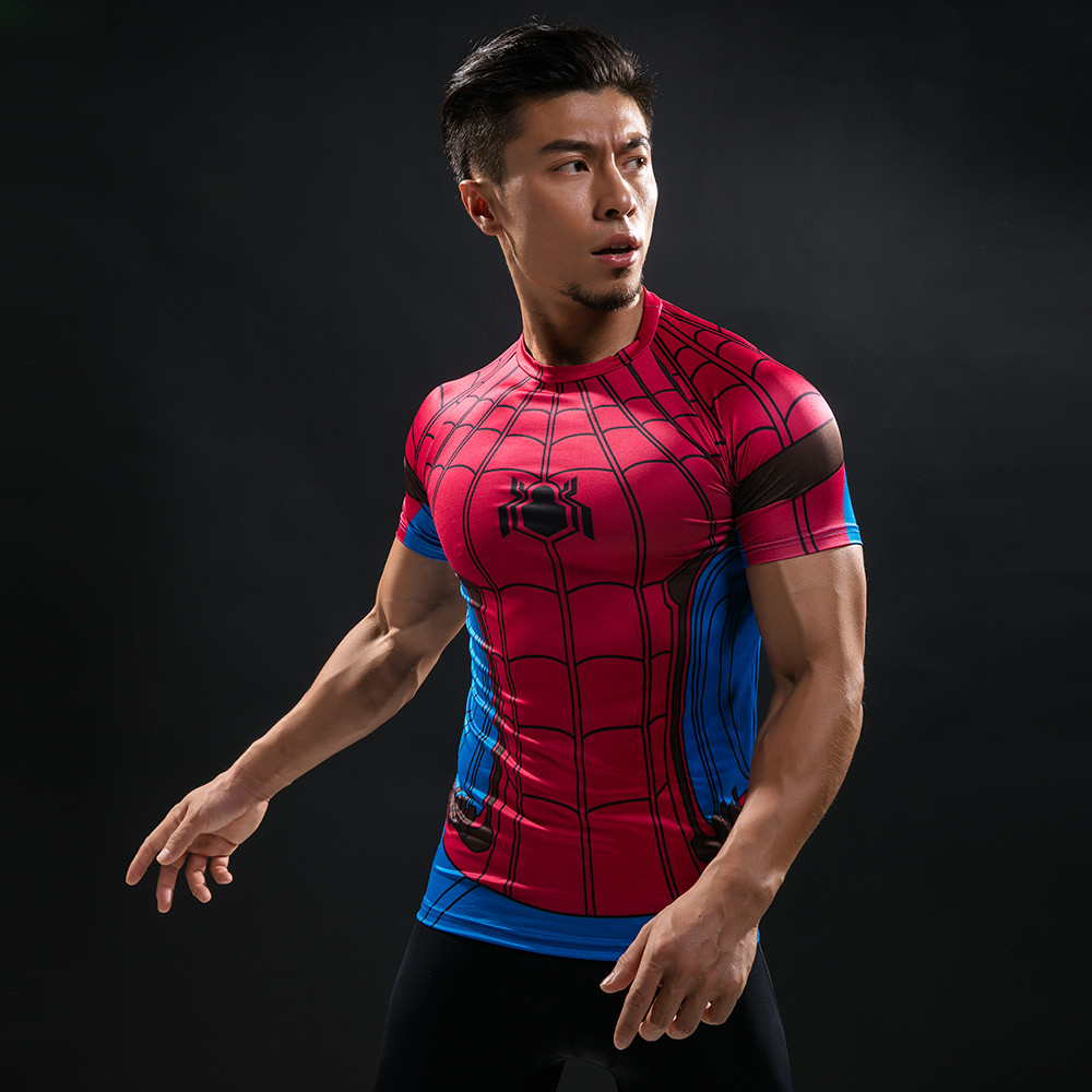 Punisher 3D Printed T-shirts Men Compression Shirts Long Sleeve Cosplay Costume crossfit fitness Clothing Tops Male Black Friday 104