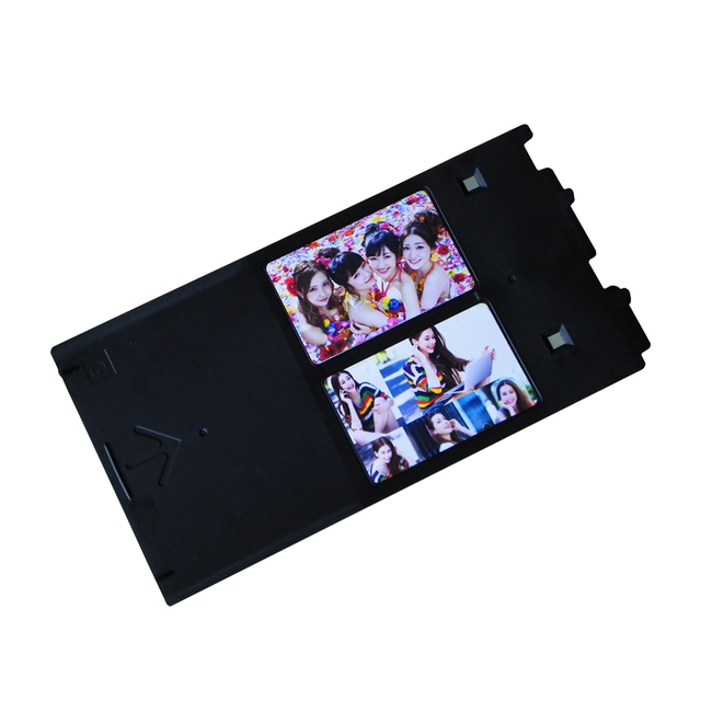 PVC Card Trays 2pcs Business Holders For Canon G PIXMA IP4600 IP4700 IP4680