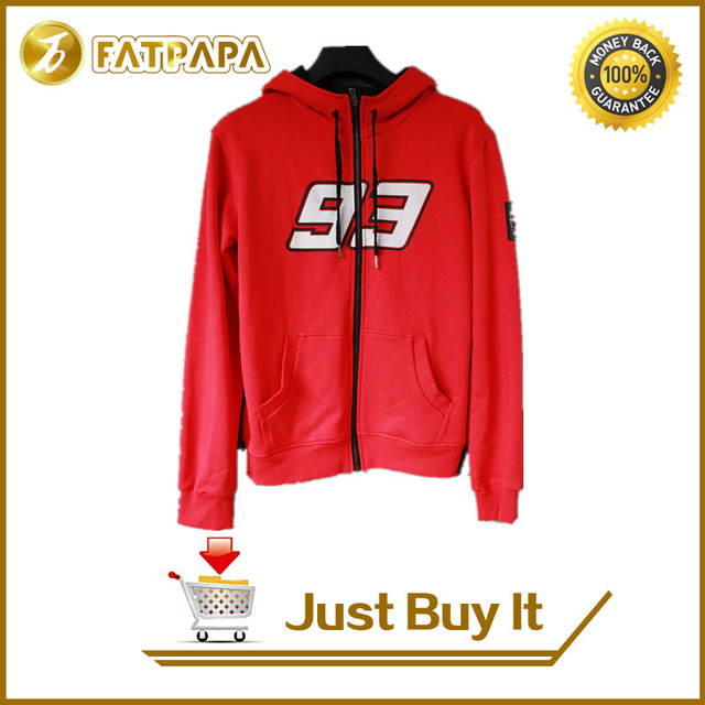 2015 F1 racing Moto GP Red Marc Marquez 93 Hoodie adults Sweatshirts