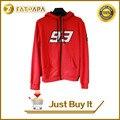 2015 racing f1 moto gp vermelho marc marquez 93 adultos camisolas do hoodie