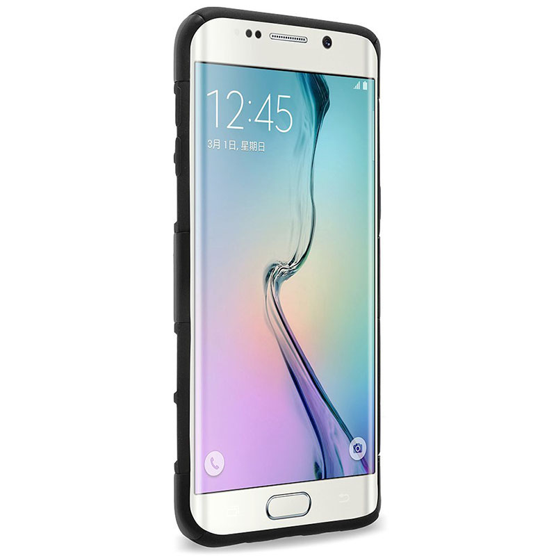 S6 Edge + Caso Estrellas En Ascenso Contra Golpe Bolsas de Accesorios de Telefon