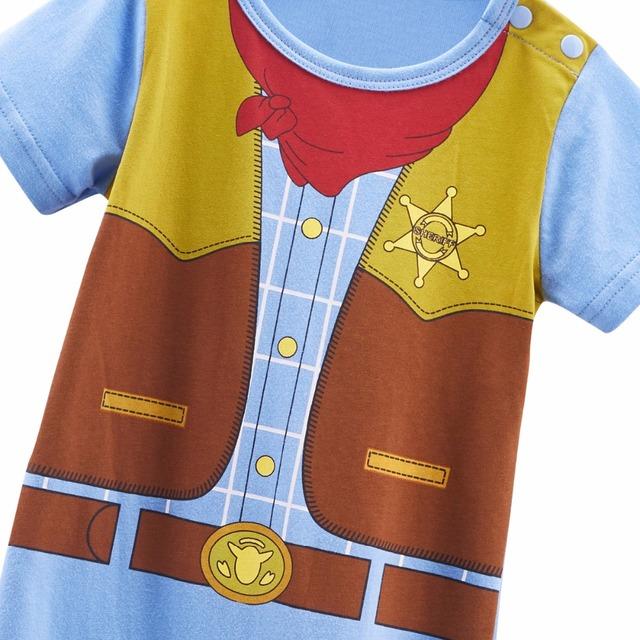 Nouveau-né Bébé Garçon Cowboy Costume Barboteuse