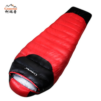 CREEPER Outdoor Professional Mummy Sleeping Bag Hiking Warm Lightweight Compact 3 4 Season For Adult Child
