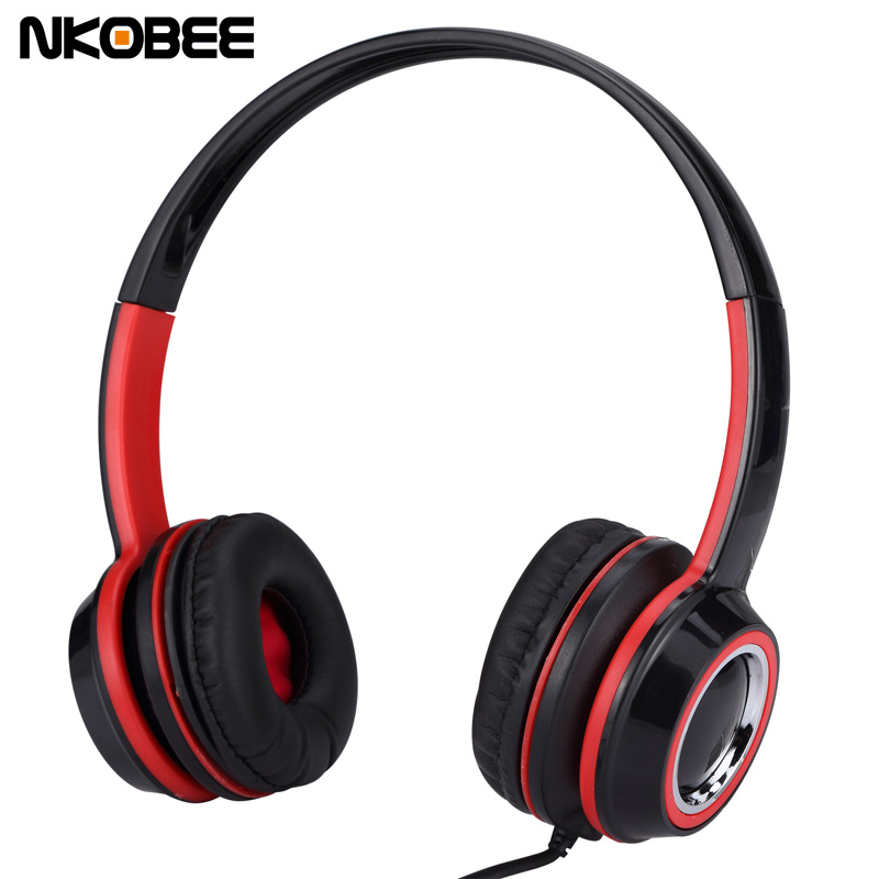 For iPhone Headphones Noise Canceling Headphone With Microphone For Samsung Headset Headphones For iPhone 7 6 Computer PC 3.5mm top brand onear headphone gaming headphones headset stereo bass noise canceling for pc iphone 6 5s 4s mobile phones