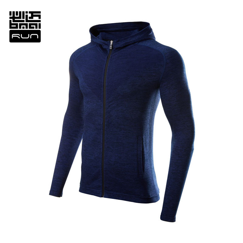 Bmai Brand Running Jacket For Men Long Sleeve Clothing Jacket Women Fitness Coat Sport Hooded Outdoor Camping Sports Lovers