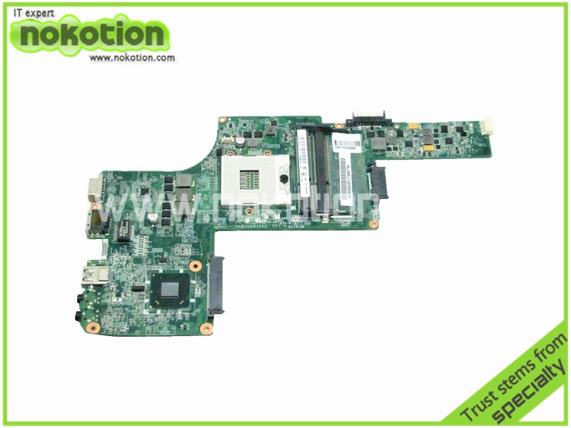 NOKOTION Laptop Motherboard for TOSHIBA Satellite L730 L735 A000095030 DABU5MB18A0 HM65 GMA HD3000 DDR3 nokotion for toshiba satellite c850d c855d laptop motherboard hd 7520g ddr3 mainboard 1310a2492002 sps v000275280