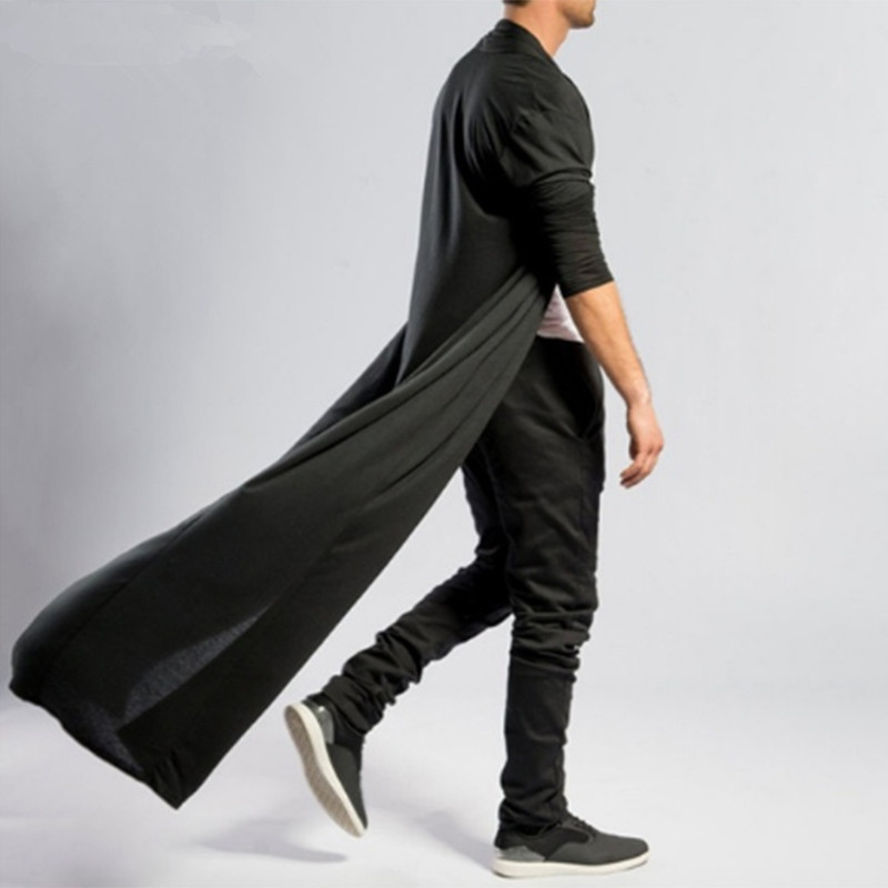 INCERUN-Gothic-Punk-Jackets-Men-s-Coat-Ruffle-Shawl-Collar-Cardigan-Open-Front-Outwear-Long-Cape (4)_