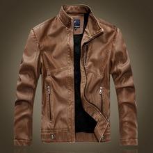 Men's Genuine padded Leather Jacket For Men Real Matte Goat Skin Sheepskin Fashion Brand Black Male Coat Plus Size 2xl EDA120