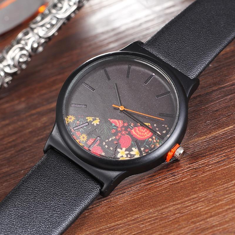 d90a89dbd53 Design da marca de moda minimalista criativo quartz women watch BGG mãos  simples feminino relógio de pulso de couro Relojes MujerUSD 6.21 piece