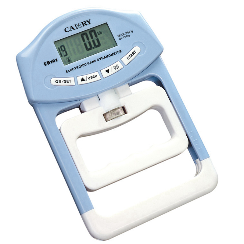 Digital LCD Dynamometer Hand Grip Power Measurement Strength Meter Mucle Developer for Body Building Gym Exercises 90kg/198Ib