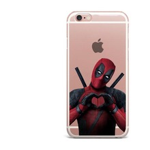 Phone Case Avengers Infinity War Thanos DC Comics Superhero Joker Deadpool Soft Cover for iPhone X 6 6S 7 8 Plus 5S SE XS MAX XR