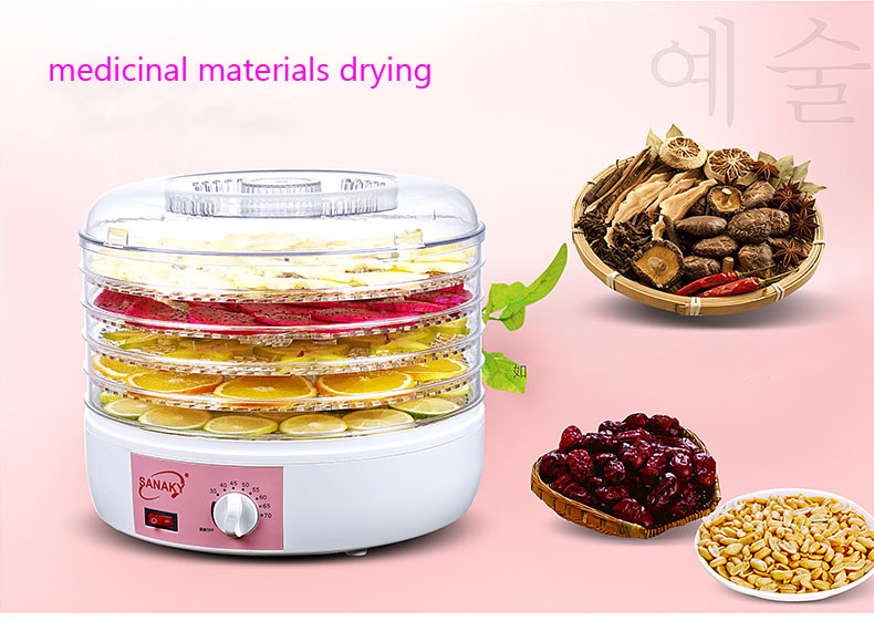 Household Nuts Food Dryer Fruits and Vegetables Dehydration Drying Machine Pet Food Dryer S6 household 10 layers food dryer dehydrators stainless steel nuts dry machine fruits and vegetables dehydration drying machine