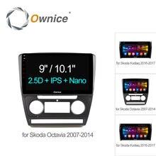 "Ownice C500 + 10.1 ""Octa Восьмиядерный Android 6.0 dvd-плеер автомобиля GPS навигации для Skoda Octavia 2007 2008 kodiaq 4 г SIM TPMS dab +"