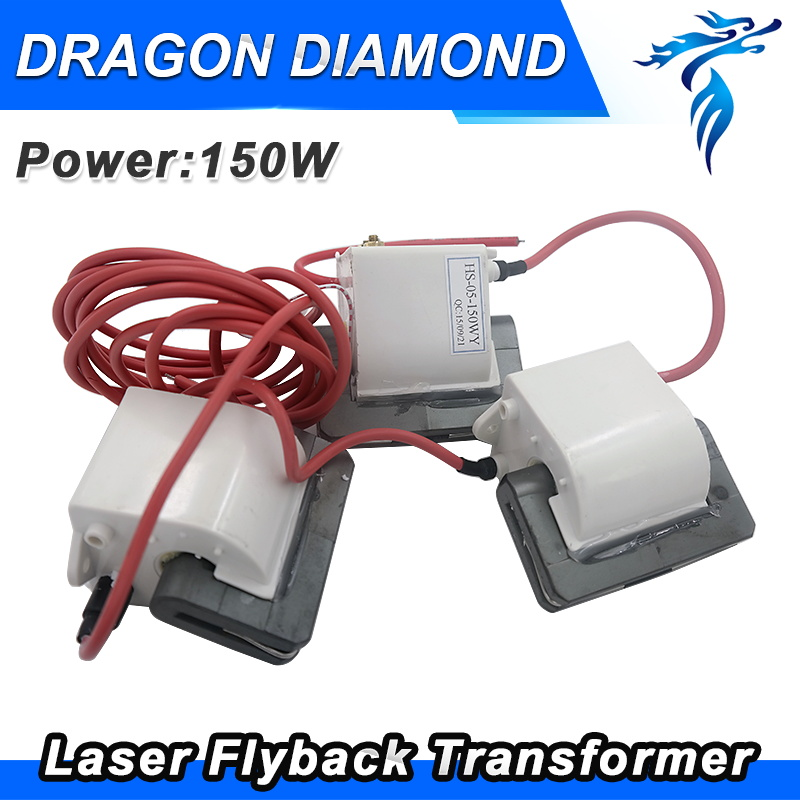 Free Shipping 150W High Voltage Flyback Transformer For 150W Co2 Laser Power Supply 2017 classic polka dot lace up men brogue dress shoes genuine leather brown black formal office business man suit shoe e71815 21 page 9