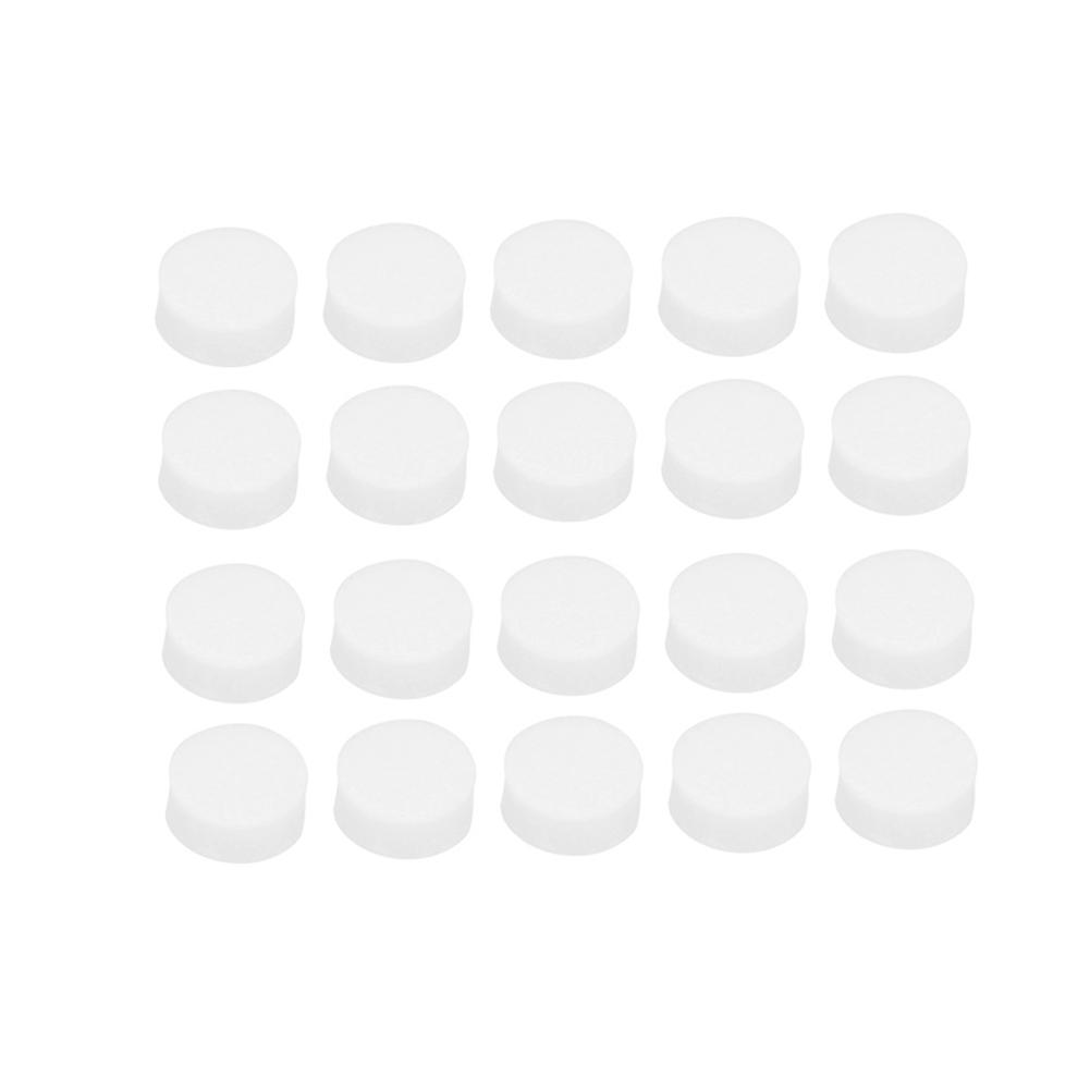 Guitar Fingerboard Dots Accessories 20 Pcs Fingerboard Inlay Dot 6mmx2mm Guitar Dots White Pearl Shell Soft And Light Stringed Instruments
