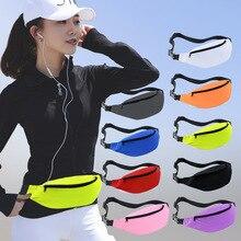 Running Waist Bag Sport Bags Jogging Pack Cycling Phone Pocket Waterproof Belt Wallet Anti-theft Hiking Climbing Daily Waist Bag стоимость