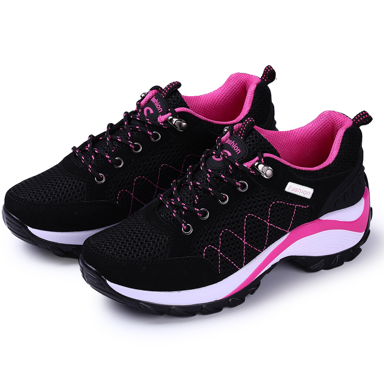 Runing Shoe For Women 2017 Spring Summer Walking Running Shoes Gray Red Low  Price Running Shoe Walking Outdoor Sport Comfortable 77ddc7acc2ce