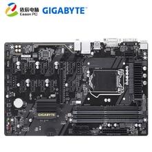 GIGABYTE GA-B250-FinTech desktop motherboard LGA1151 i3 i5 i7 DDR4  64G ATX цена и фото