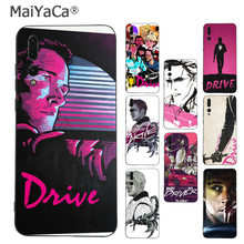 MaiYaCa Drive Ryan Gosling Movie Art Colorful phone case for Huawei P9 10 plus 20 pro mate9 10 lite honor 10 view10 Mobile Cover(China)